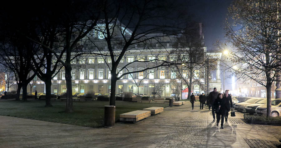Catching an Opera in Wroclaw, Poland