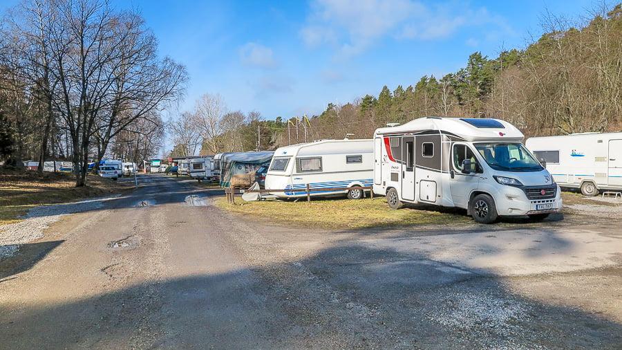 Ängby Camping, Stockholm, Sweden