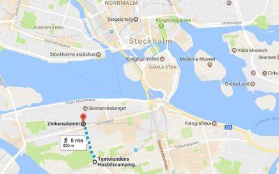 A Campsite in central Stockholm – Tantolunden