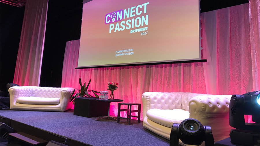 Connect Passion event in Malmö, Sweden