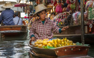 Floating Market, Bangkok – Damnoen Saduak, Thailand