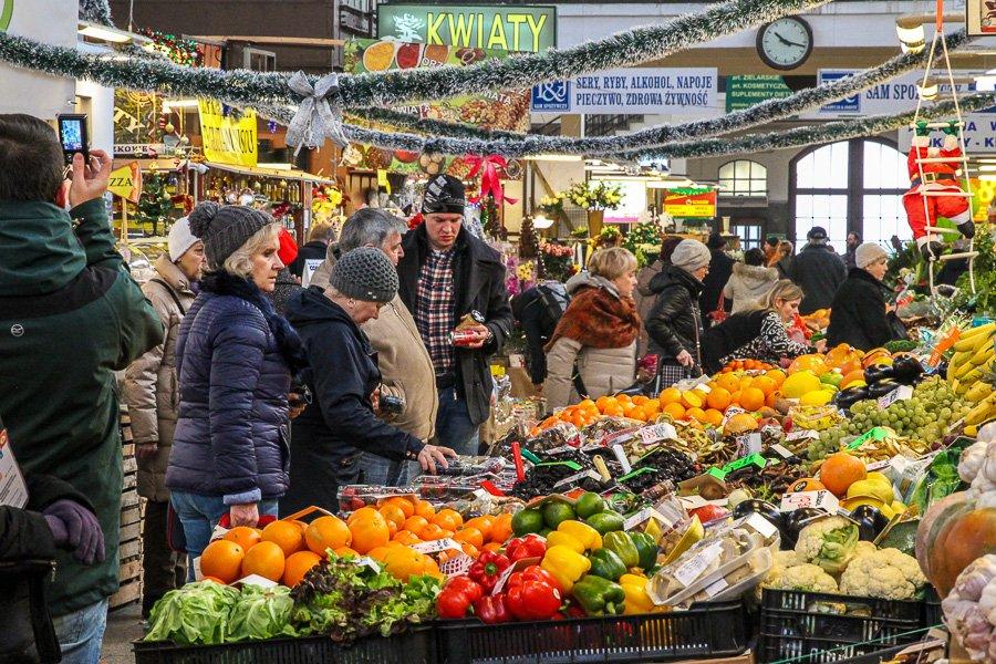 Wroclaw, Poland Market place