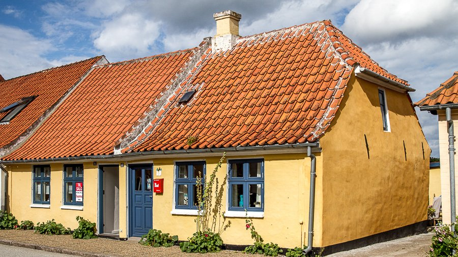 A house in Saeby, Denmark