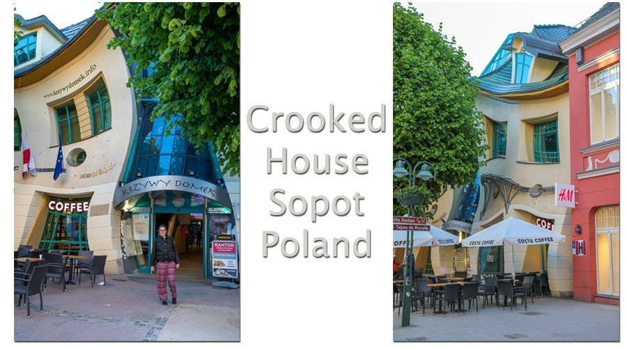 Krzywy Domek – Crooked House – Sopot, Poland
