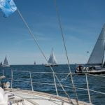 Sailing from Gdansk to Sopot