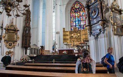 Worlds largest brick church – St. Mary's Church, Gdansk, Poland