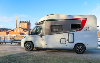 Motorhomes are getting more popular in Sweden
