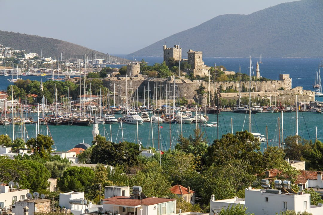 Swedes travel to bodrum