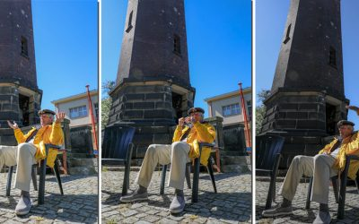 The Lighthouse of world war II in Gdansk