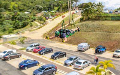 World's longest zip line – The Monster at Toro Verde
