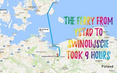 Our journey has started – we are finally lost!