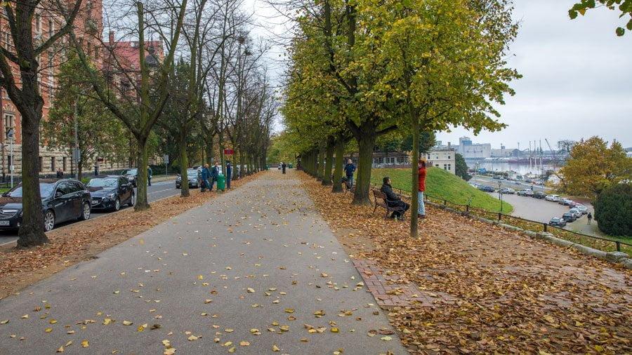 Walk in Szczecin