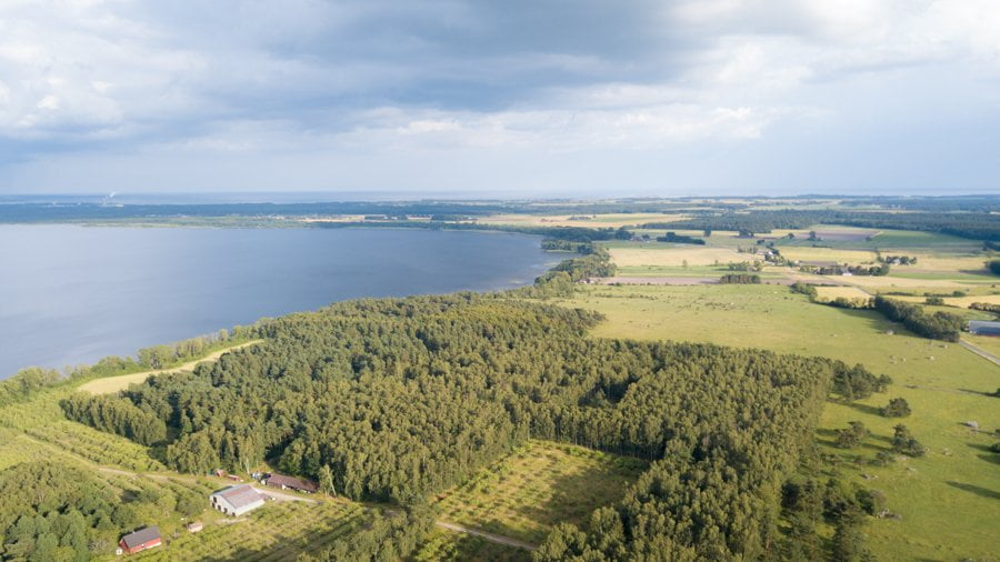 Sweden from above
