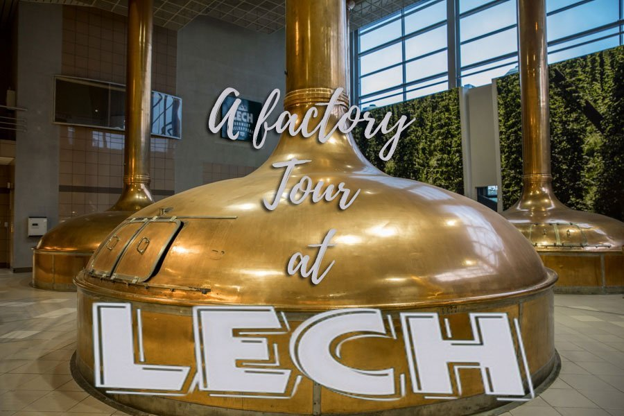 Beer tasting at Lech brewery in Poznan