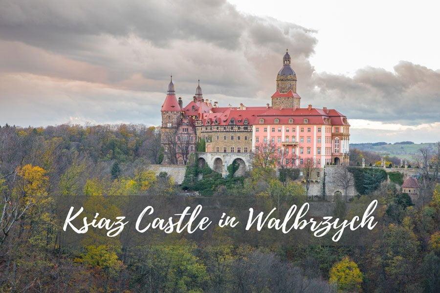 Ksiaz Castle in Walbrzych, Poland
