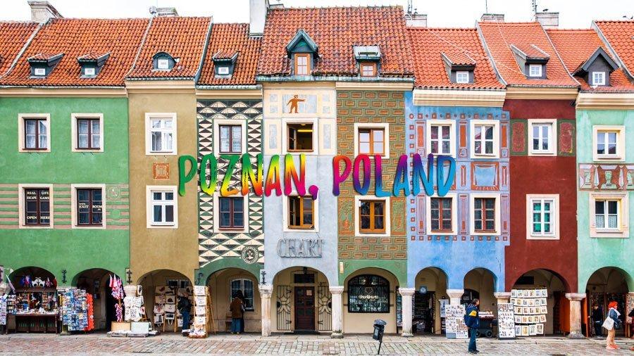 Visit the city center of Poznan