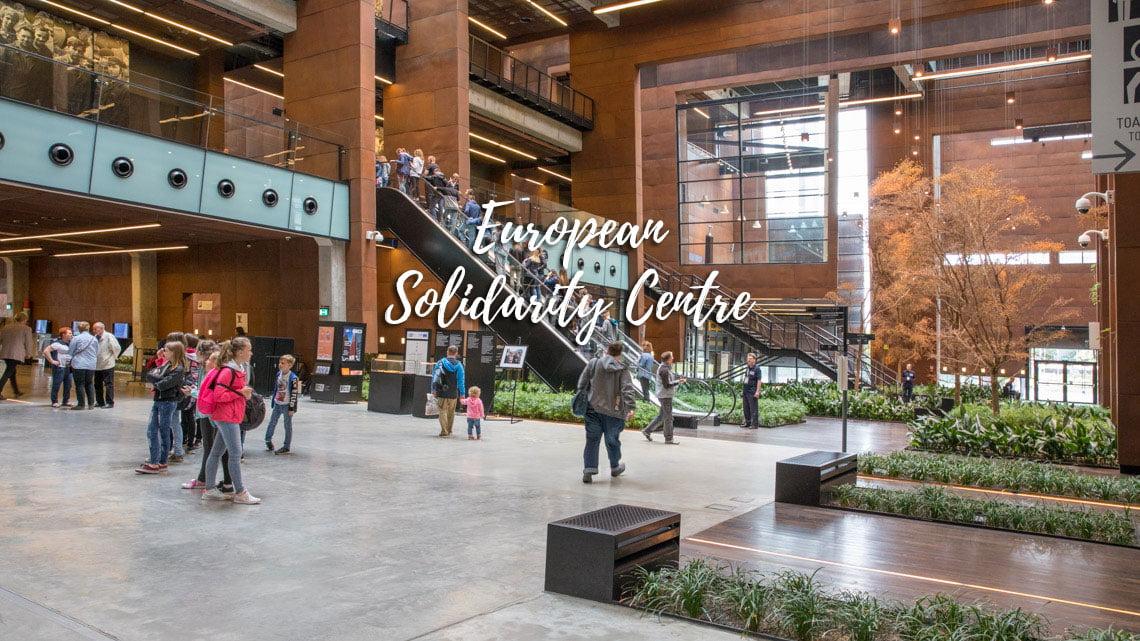 Solidarity center in Gdansk, Poland