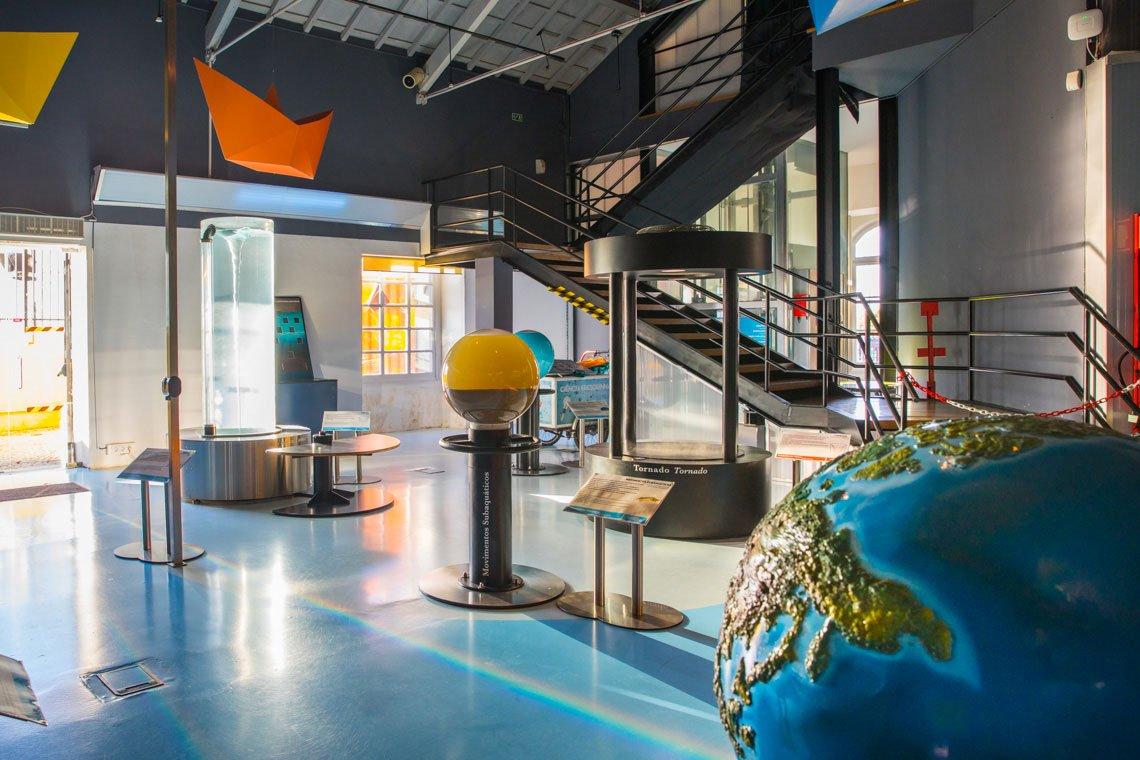 The Algarve Live science center in Faro, Portugal