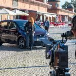 Video shoot in Olhao
