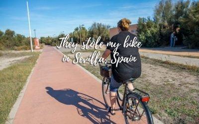 My bike got stolen in Sevilla