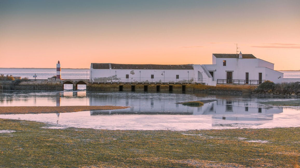 The tide mill in ria Formosa