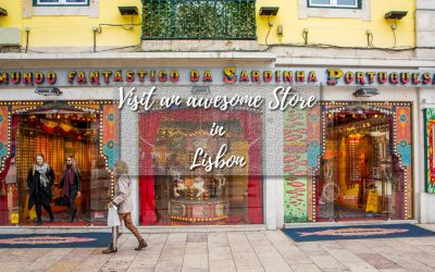 Visit an awesome store in Lisbon