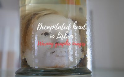 Decapitated head in Lisbon – for real!