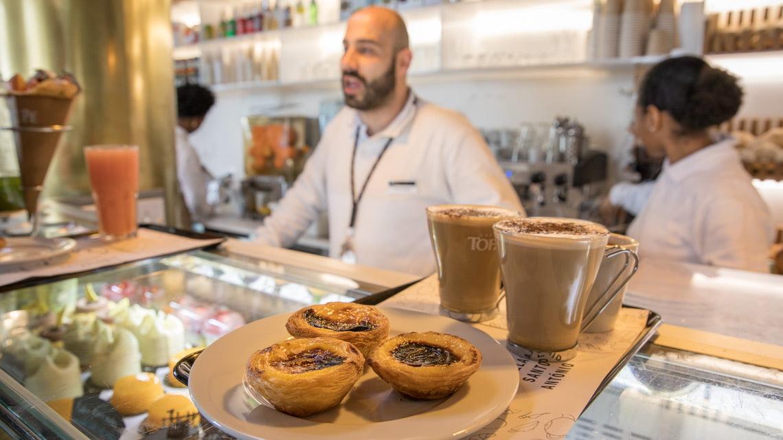 Pastel de Nata in Lisbon, Portugal