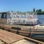 Boat charter in Gdansk