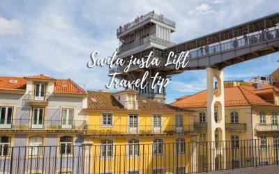 Soar above Lisbon city center at Santa Justa Lift