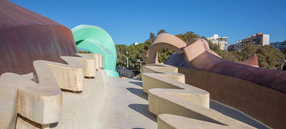 Gulliver park in Valencia, Spain