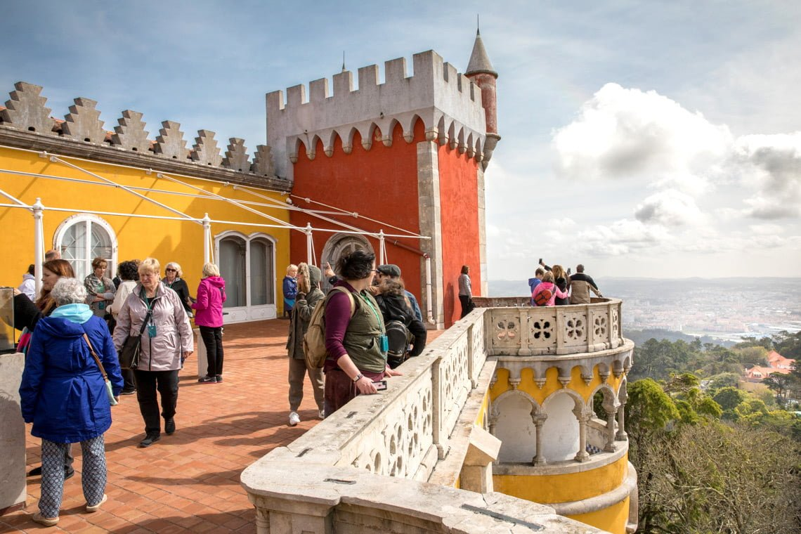 Pena Palace Queen's terrace