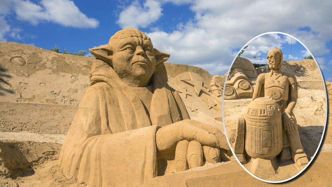 Sand sculpture Portugal