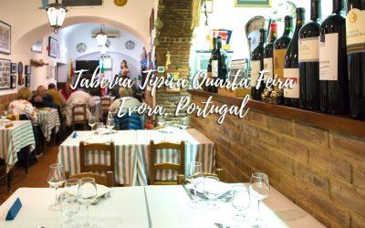 A very special and different restaurant – Taberna Tipica Quarta Feira