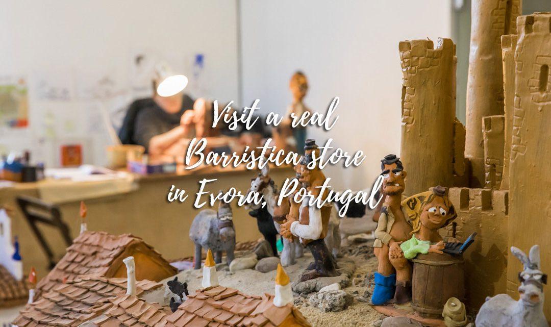 Enter the world of barristica in Evora, Portugal