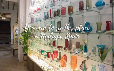 Museum of glass and crystal in Malaga