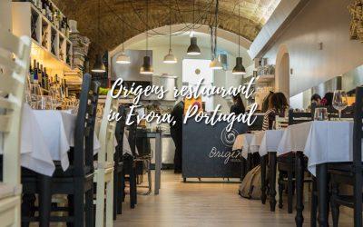 The best restaurant in Evora – Origens restaurant