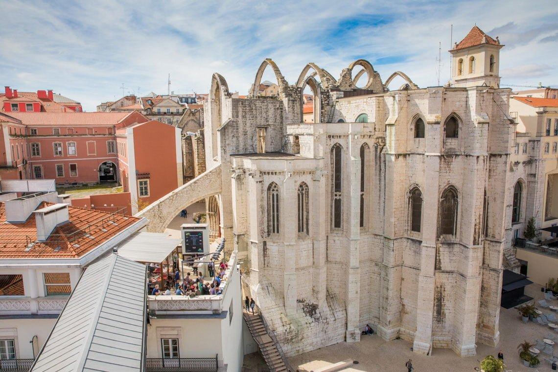 The Carmo convent