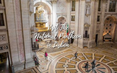 National Pantheon in Lisbon is magnificent