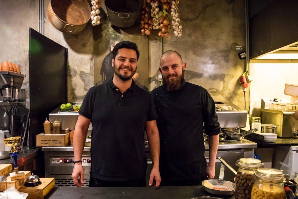 The chef at Cantina 32 in Porto