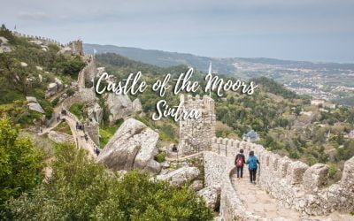 Castle of the Moors in Sintra, Portugal