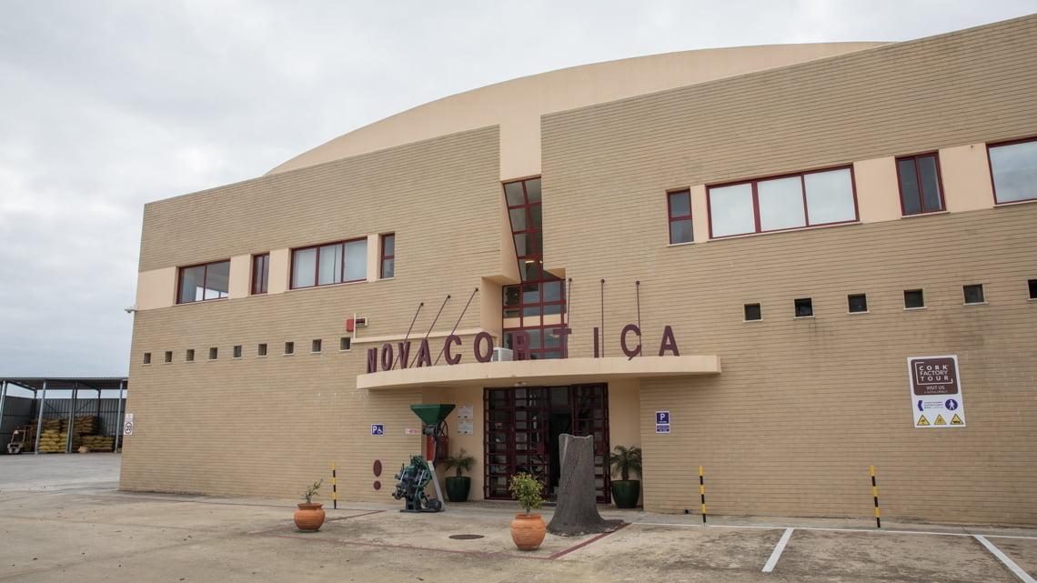 Cork factory Novacortica in the Algarve