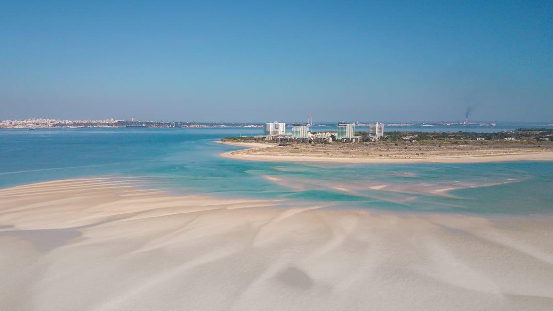 Troia beach Portugal
