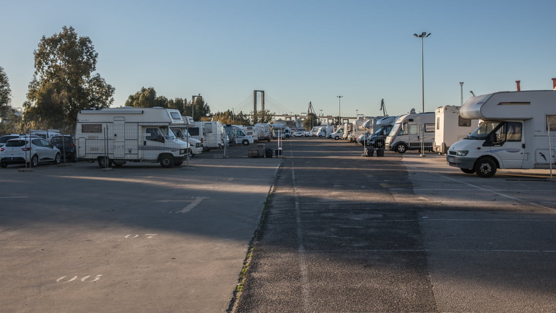 Area de Autocaravanas de Sevilla