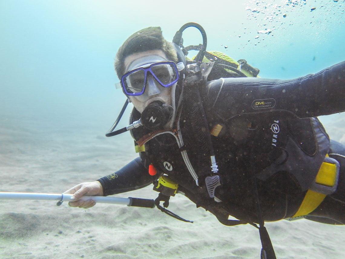 Diving in Lanzarote