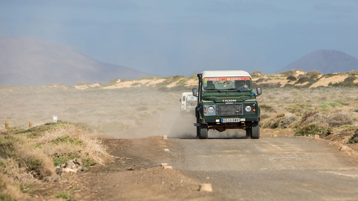 They drive like they stole the cars at La Graciosa
