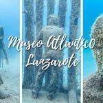 Museo Atlantico, Lanzarote. A sculpturepark, for diving