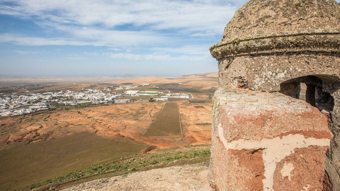 Castillo de Santa Barbara in Teguise, Lanzarote