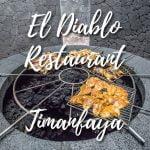 El Diablo restaurant, Timanfaya.