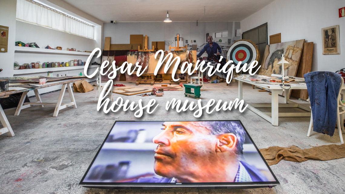 Cesar Manrique house museum in Haria